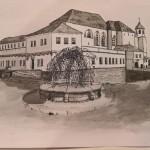 perokresba hrad
